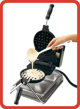 Industrial Waffle Flour Mix Image